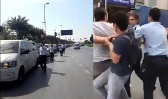 İstanbul'da Uber şoförleri ortalığı karıştırdı