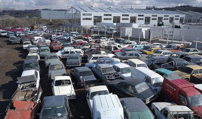 Hurdaya ayrılan araç sayısı 25 kat arttı
