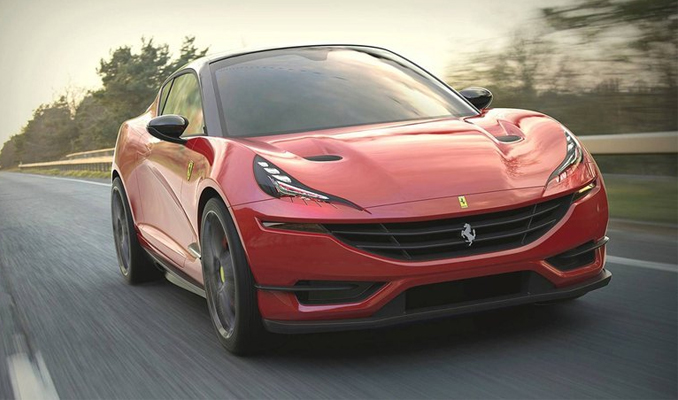 Ferrari otomobil dünyasını şaşırtmaya devam ediyor