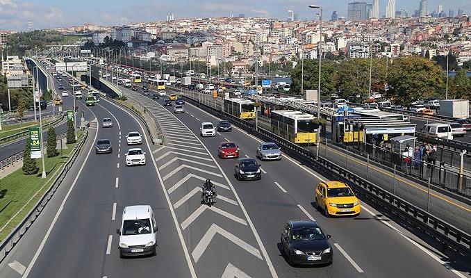 'İstanbul'da trafik yoğunluğu yüzde 17 azaldı'