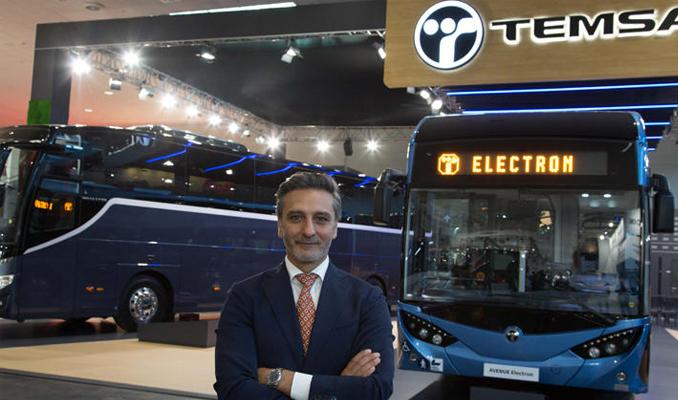 TEMSA yeni araçlarını Almanya'da sergiledi