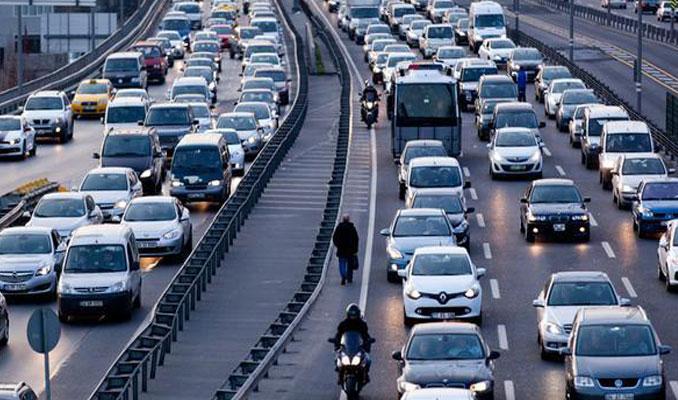 Trafikteki taşıt sayısı arttı