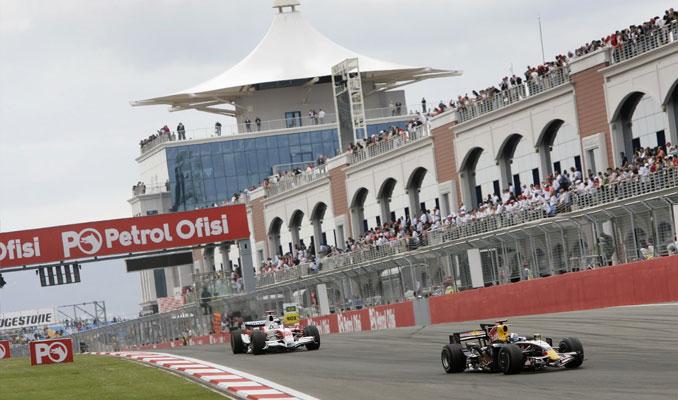 İstanbul'daki Formula 1 pisti otopark oldu