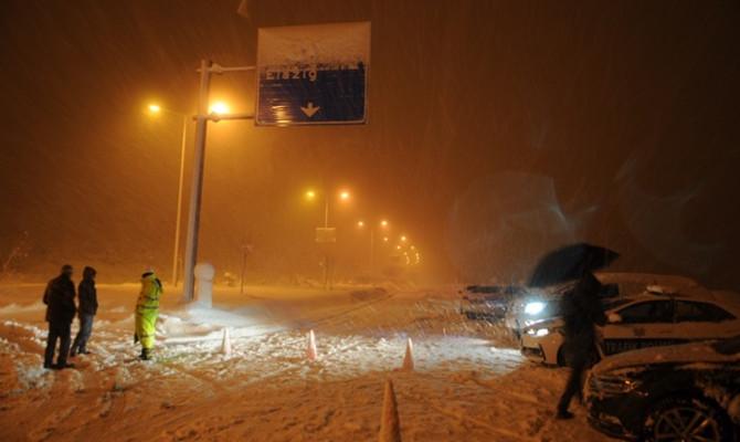 Bingöl-Elazığ karayolu ulaşıma kapandı