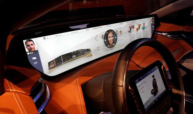 48 inçlik ekranıyla CES 2019'a Byton M-Byte damgası