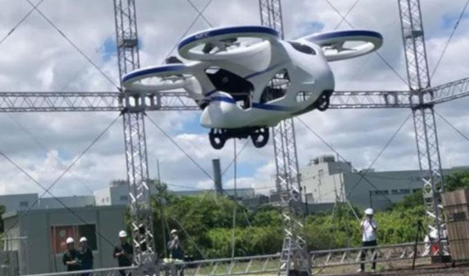 Rusya'dan uçan otomobil için ilk adım