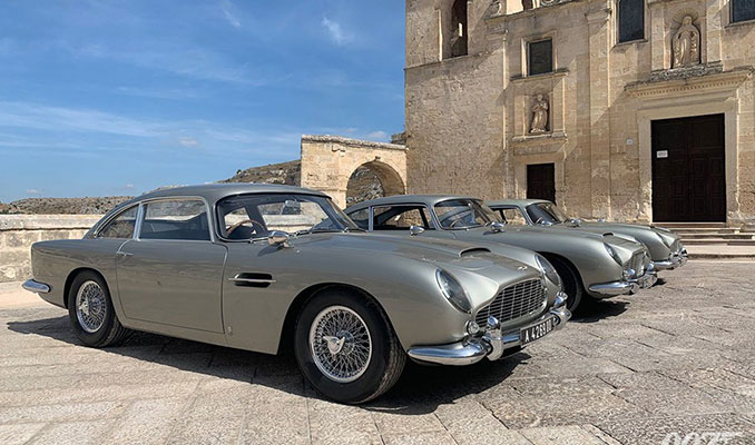 Son James Bond filminde yer alacak Aston Martin modelleri
