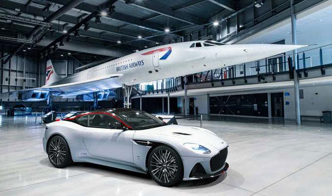 Aston Martin'den Concorde için süper otomobil