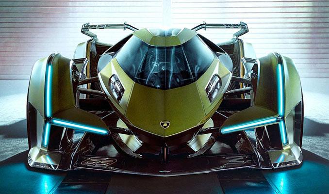 Lamborgini, Lambo V12 Vision Gran Turismo'yu tanıttı!