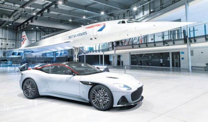 Concorde şerefine 'uçak gibi' DBS'ler