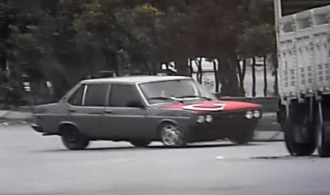 Drift yapan sürücüye 15 bin lira ceza