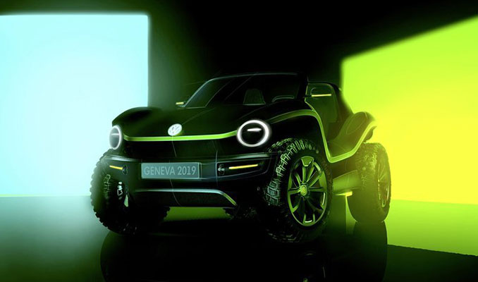 Yeni Buggy Cenevre Otomobil Fuarı'nda tanıtılacak