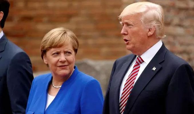 Merkel: Alman araçları ABD için ulusal risk taşımıyor