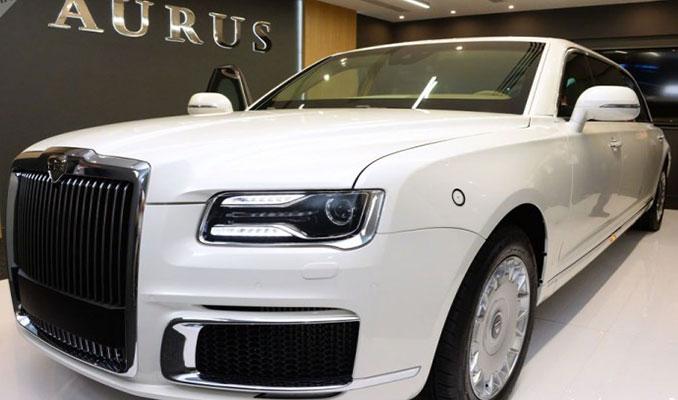 'Putin'in limuzini' Aurus, IDEX 2019'da tanıtıldı