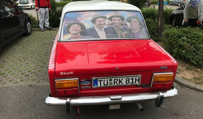 Almanya sokaklarında nostalji