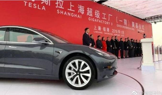 Çin Tesla 3'lerin ithalatına yeniden izin verdi