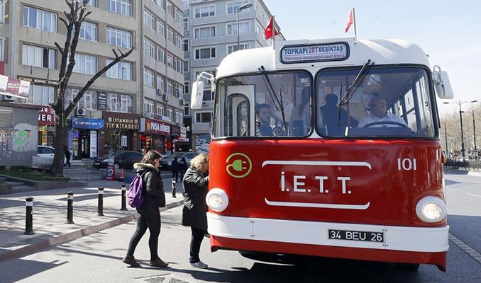 'Tosun' yeniden İstanbul yollarında