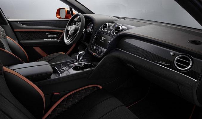 Dünyanın en hızlı ve lüks SUV'si Bentayga Speed