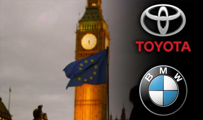 BMW ve Toyota'dan İngiltere'ye Brexit uyarısı