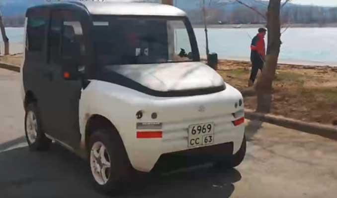 Rus malı ilk elektrikli otomobil satışa çıkıyor