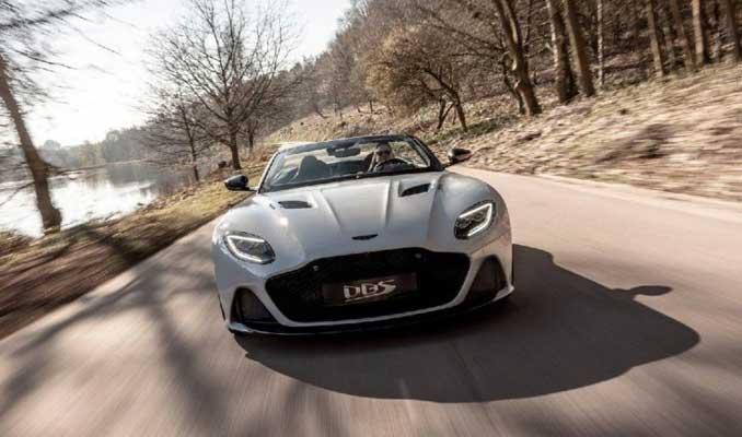 En hızlı Aston Martin üzerini açtı