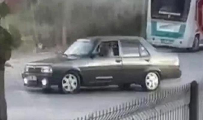 Konya'da 'drift' yapan 3 sürücüye ceza