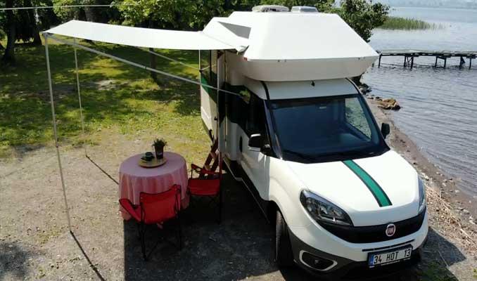 Yeni nesil karavan HOTOMOBİL görücüye çıktı