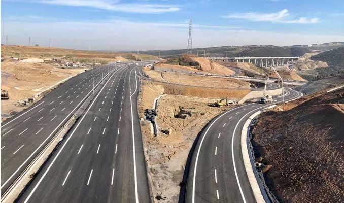 Kuzey Marmara Otoyolu'nun TEM kavşağı açılıyor
