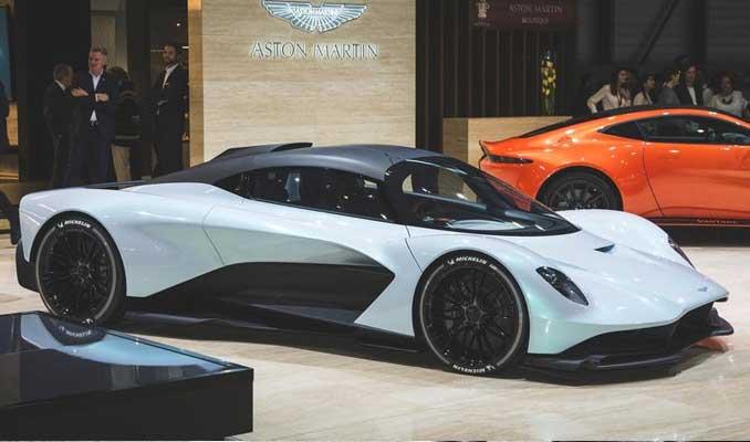 Bond yeni filminde Aston Martin Valhalla kullanılacak