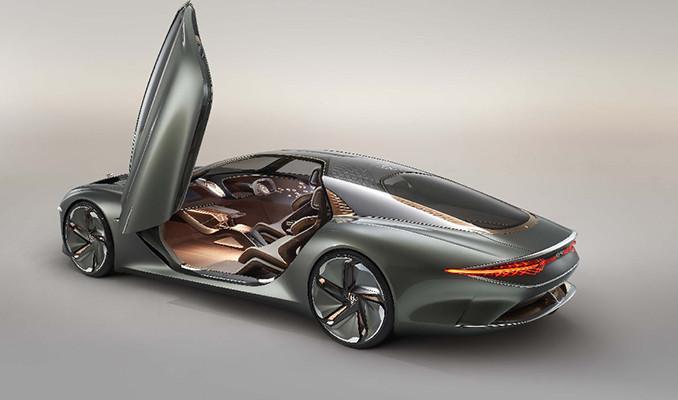 İşte Bentley'in elektrikli otomobili!