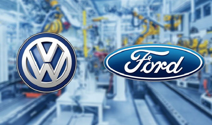 Volkswagen ve Ford'dan otonom araçlarda iş birliği
