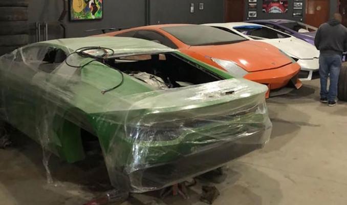 Sahte Lamborghini baskını!