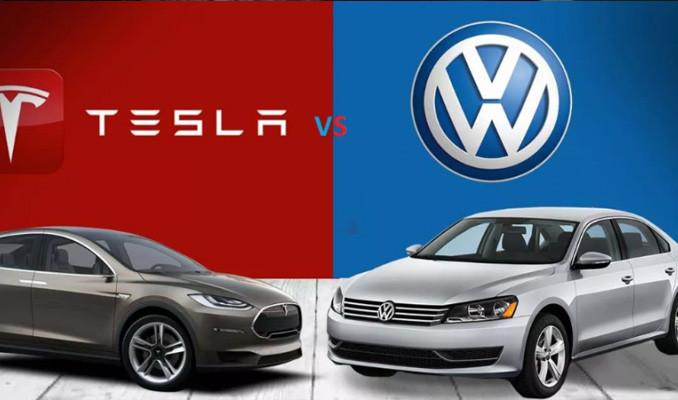 Volkswagen'den Tesla'yla ortaklık anlaşması
