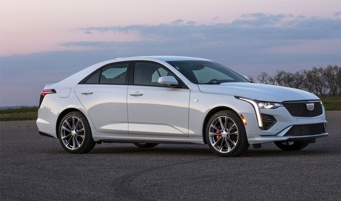 Cadillac'ın 2020 Model CT4 Sedan Serisi Ortaya Çıktı