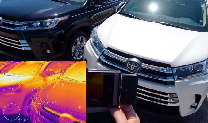 Hangi renk otomobil yazın daha sıcak olur?