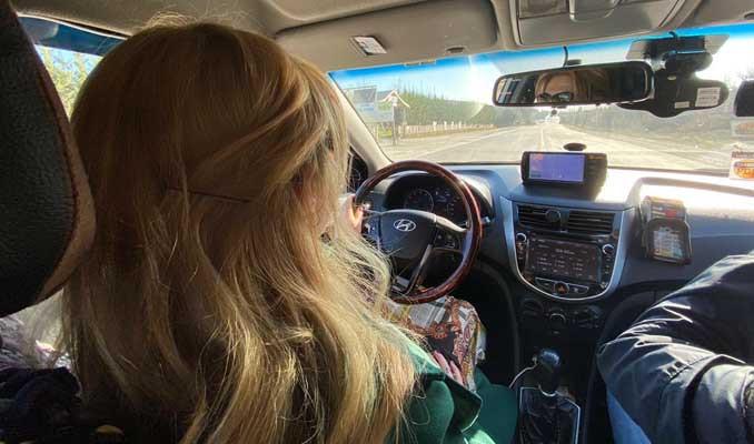2 bin 249 taksi plakasının sahibi kadın