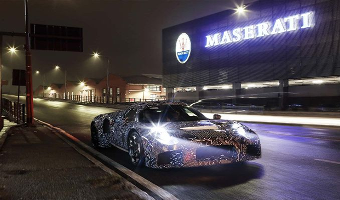 İşte Maserati'nin elektrikli modeli!