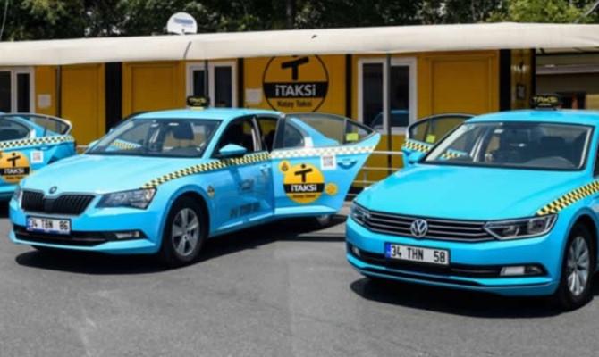 Mavi taksiler sarıya dönüş için İBB'ye gitti