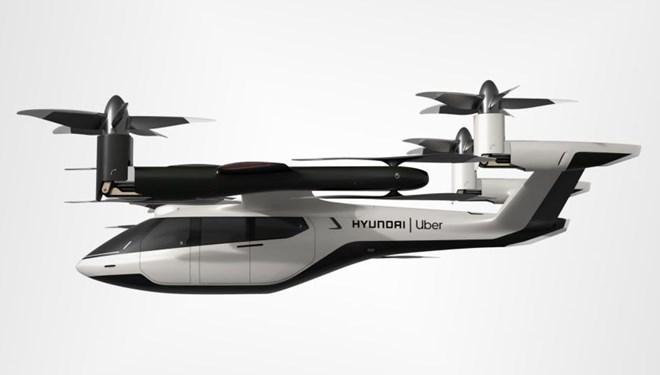 Uber ve Hyundai'den hava taksisi işbirliği