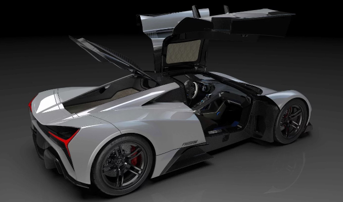 2 milyon dolarlık hiper otomobil tanıtıldı