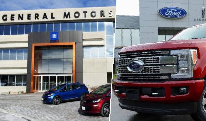 GM ve Ford'da beyaz yakalılar evden çalışacak