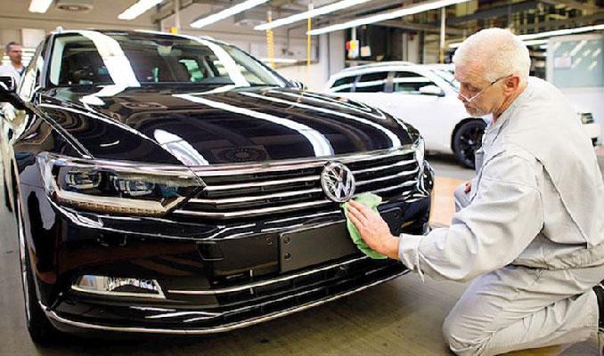 Bir üretim durdurma haberi de Alman devinden geldi