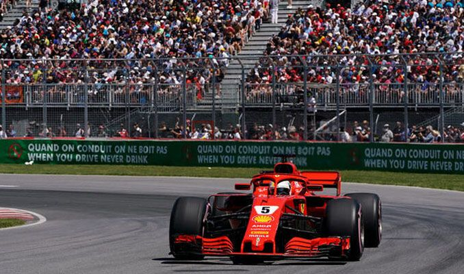 Formula 1 Kanada Grand Prix'e virüs ertelemesi