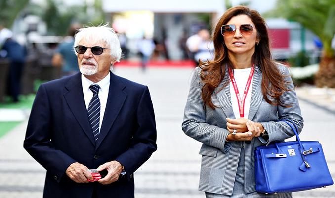 Formula 1'in patronu Bernie Ecclestone 89 yaşında dördüncü kez baba oldu