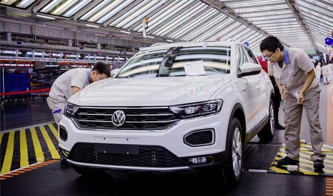 Volkswagen'in satışları yüzde 23 azaldı
