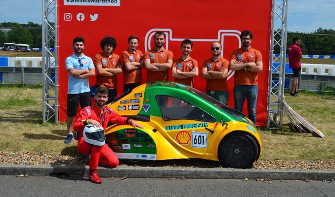 Shell Eco-Marathon Avrupa'ya Türk gençleri damga vurdu