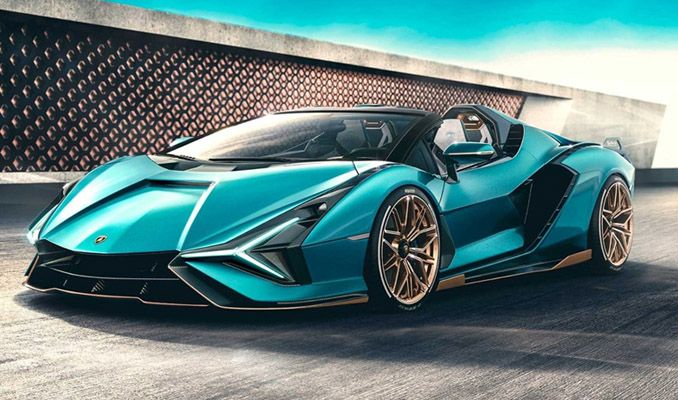 Sadece 19 adet üretilecek Lamborghini Sion Roadster tanıtıldı