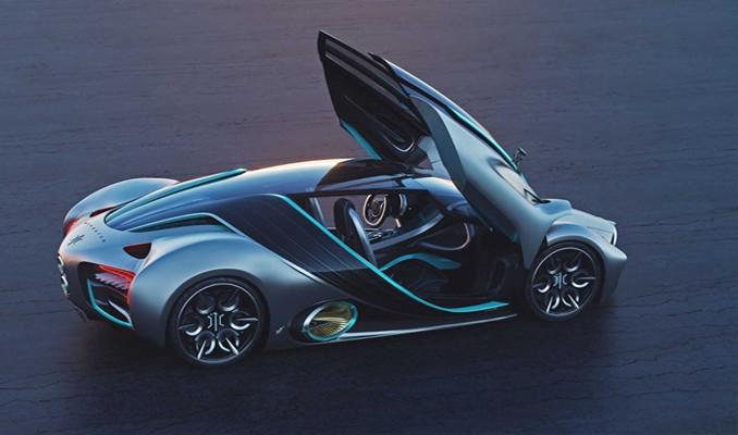 Hidrojen yakıtlı süper otomobil
