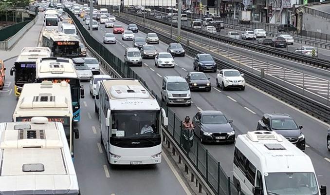 Temmuz'da 138 bin 883 adet taşıtın trafiğe kaydı yapıldı
