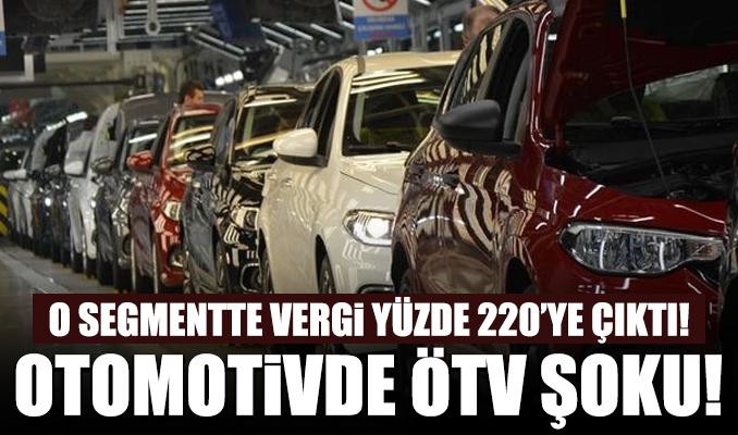 Otomotive gece yarısı ÖTV şoku